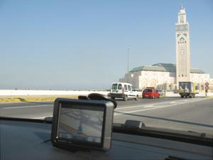 Nous avons essayé le GPS à Casablanca