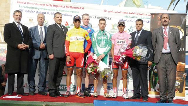 Tour cycliste du Maroc -5ème étape-  : Essaid Abelouache annonce  la couleur