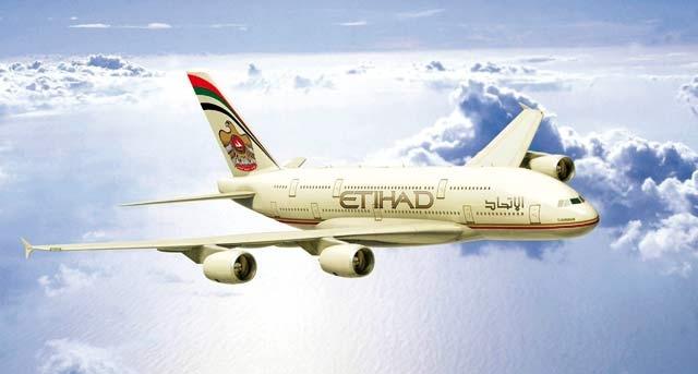 Etihad Airways bat un nouveau record de passagers