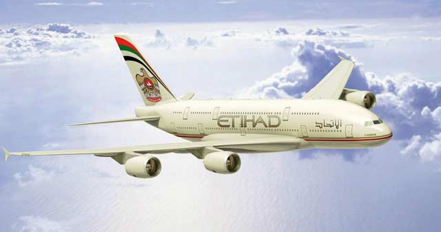 Hausse de 200% du bénéfice net : Boom des revenus d Etihad Airways en 2012