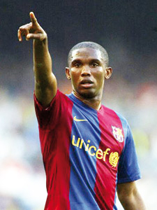 Eto'o réclame au Barça 3 millions d'euros