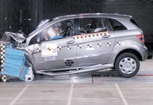 EuroNCAP : nouvelle vague de crash-tests
