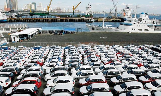 Exportations automobiles :  Croissance à deux chiffres