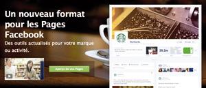 Facebook lance la nouvelle Timeline pour les entreprises et les marques