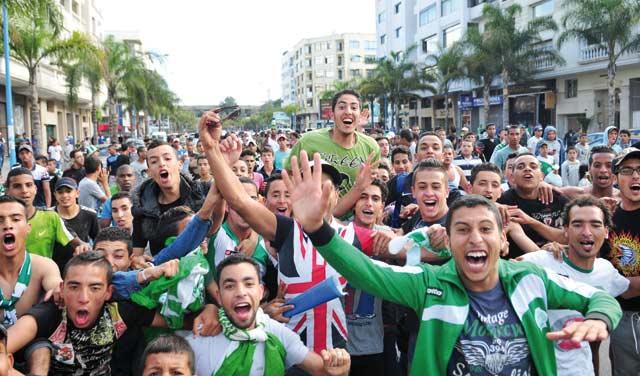 Des milliers de fans du Raja dans  les rues pour fêter le titre