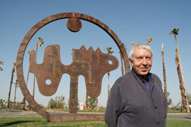 Une oeuvre de Farid Belkahia acquise par le Centre Pompidou à Paris