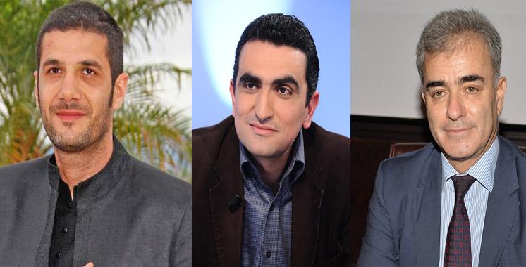 Nabil Ayouch Farid Bensaïd et Hicham Lahlou décorés par la France