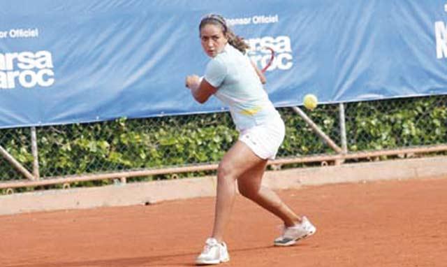 Fatim Ezzahra El Allami : Les Marocaines ne peuvent pas gagner  le Grand Prix Lalla Meryem de tennis