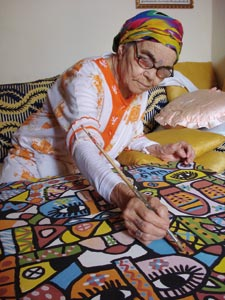 Fatna Gbouri, la mémoire picturale de Safi