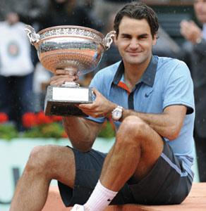 Federer remporte son premier Roland-Garros