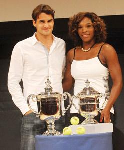 Tennis : Federer et  Serena Williams meilleurs joueurs de l'année