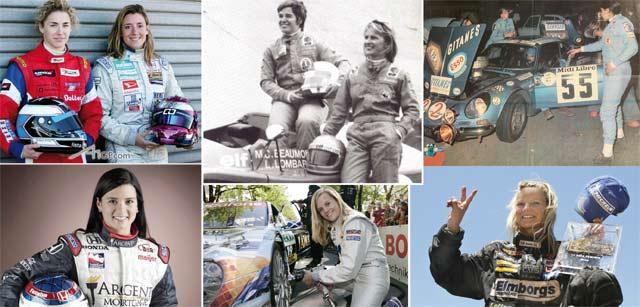 Il était une fois… Les femmes pilotes : Elles ont laissé des traces (de pneus)