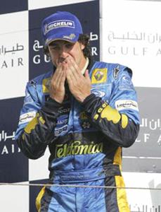 GP de Chine : Alonso sacré champion