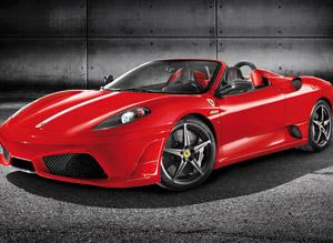 Le bolide : Ferrari Scuderia Spider 16M