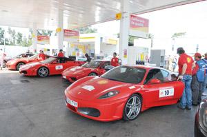 Tour Shell Ferrari 2009 : Jamais deux sans trois