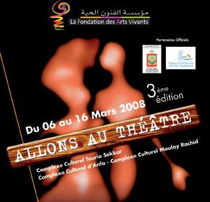 Le festival «Allons au théâtre» invite à la redécouverte des planches