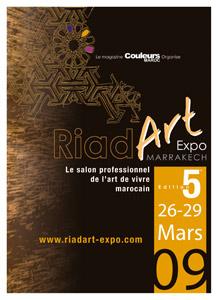 Riad Art Expo 2009 : L'art de vivre marocain exhibé