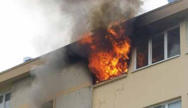 Elle met le feu à son appartement pour obliger son mari à divorcer