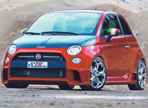 Le bolide : Fiat 500 Super by TRC