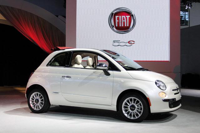 Fiat 500 : Rendu d artiste