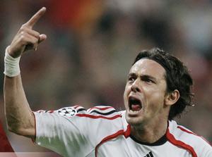 Grâce à Inzaghi, Milan rejoint la Juve