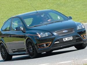 Le bolide : Ford Focus ST Black Edition