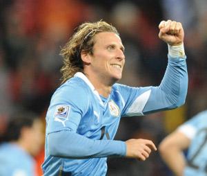 Uruguay : Diego Forlan élu  ballon d'Or