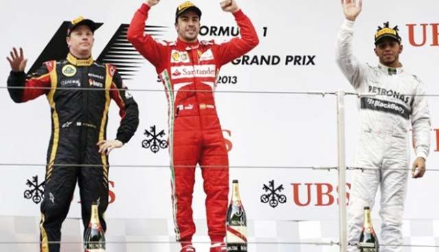 Formule 1 : Alonso vainqueur en Chine