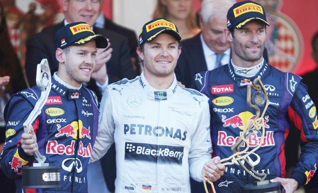 Formule1 : Rosberg vainqueur à Monaco