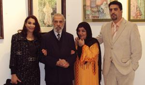 Tanger : exposition collective d'aquarelles