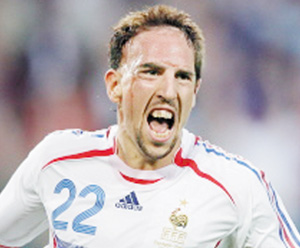 Ribéry fait carburer les Bleus à l'émotion
