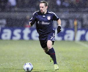 L'avenir de Franck Ribéry en suspens