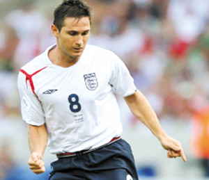 Angleterre : Lampard veut retrouver le chemin du but