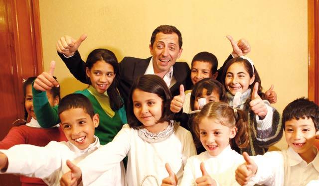 Gad Elmaleh collecte 3,3 MDH  pour SOS Village