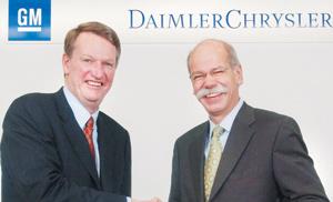 DaimlerChrysler : La rupture est à l'étude