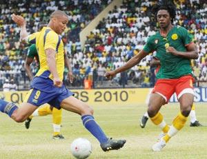 Mondial 2010 : Cameroun-Gabon, les Lions pour prendre la tête