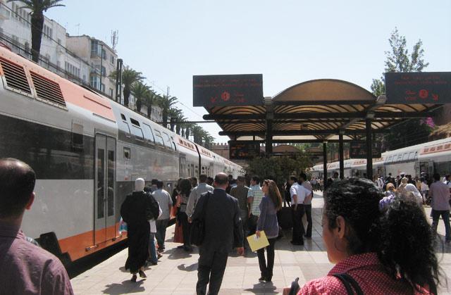 ONCF: Le jet d'un cercle en fer a perturbé le trafic ferroviaire dimanche
