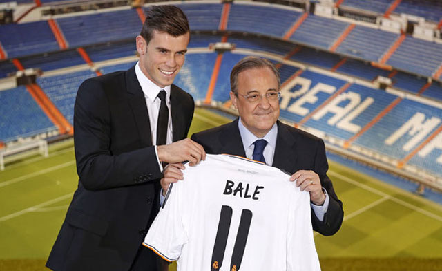 Gareth Bale: «Je serais venu au Real même pour un centime»