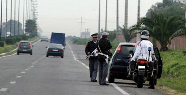 Lors d'une opération  de contrôle routier près de Fès : Un gendarme mortellement fauché par une voiture