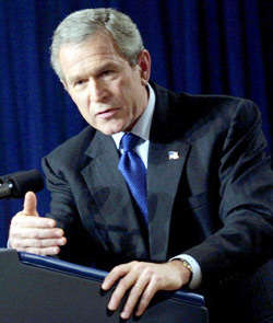 Irak : Bush fait son mea culpa