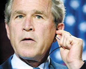 Foley déstabilise les plans de Bush