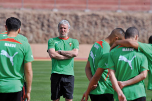 L'équipe nationale peaufine sa préparation à Marbella