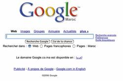 Télex : Google au Maroc