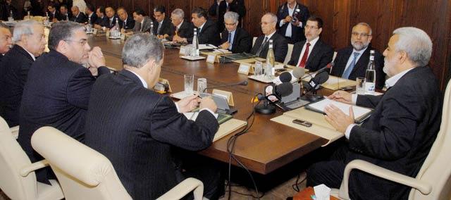 Réunion hebdomadaire du Conseil de gouvernement