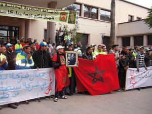 Oujda : Grève des éboueurs le jour de l'Aïd