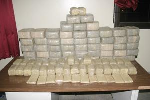 Casablanca : 7 kilos de haschich saisis dans l'appartement d'un dealer