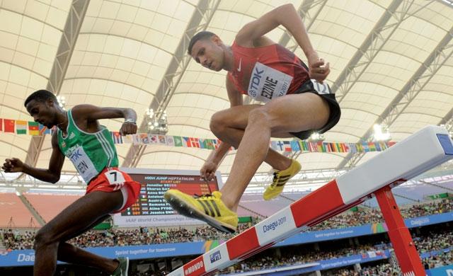 JO-2012 (Athlétisme): Le Marocain Ezzine rejoint son compatriote Taleb en finale du 3000 m steeple