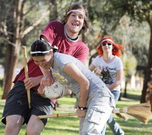 Harry Potter : Le Quidditch ensorcelle les universités australiennes