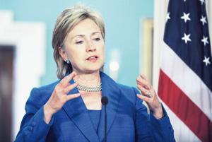 Hillary Clinton à Marrakech