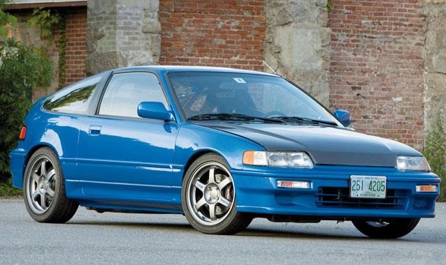 Il était une fois : Honda CRX, le discret petit bolide